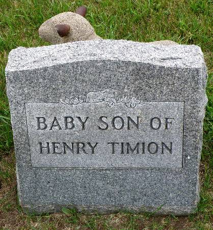 TIMION, BABY SON - Black Hawk County, Iowa | BABY SON TIMION