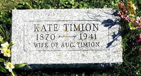 TIMION, KATE - Black Hawk County, Iowa | KATE TIMION