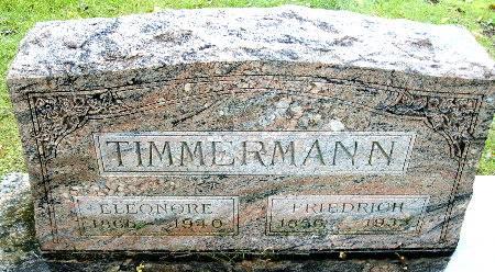 TIMMERMANN, FRIEDRICH - Black Hawk County, Iowa | FRIEDRICH TIMMERMANN