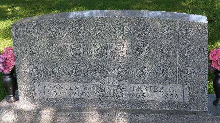 TIPPEY, FRANCES W. - Black Hawk County, Iowa | FRANCES W. TIPPEY