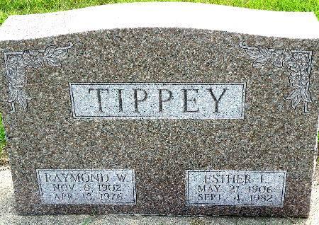 TIPPEY, ESTHER L. - Black Hawk County, Iowa | ESTHER L. TIPPEY