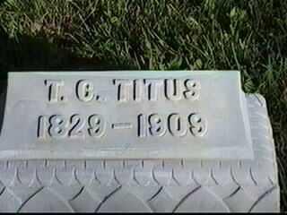 TITUS, T.C. - Black Hawk County, Iowa | T.C. TITUS