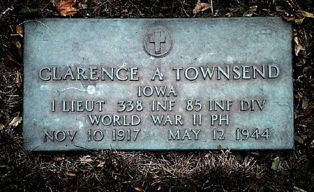 TOWNSEND, CLARENCE A. - Black Hawk County, Iowa | CLARENCE A. TOWNSEND