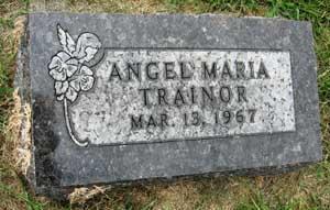 TRAINOR, ANGEL MARIA - Black Hawk County, Iowa | ANGEL MARIA TRAINOR