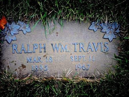 TRAVIS, RALPH WM. - Black Hawk County, Iowa | RALPH WM. TRAVIS