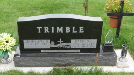 TRIMBLE, GENEVIEVE E. - Black Hawk County, Iowa | GENEVIEVE E. TRIMBLE
