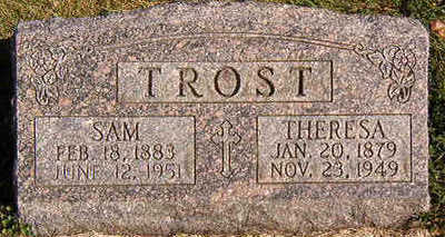 TROST, SAM - Black Hawk County, Iowa | SAM TROST