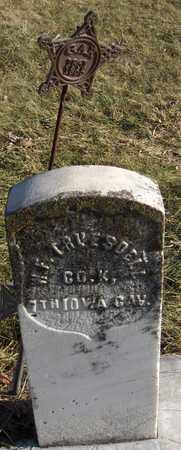 TRUESDELL, WILLIAM F. - Black Hawk County, Iowa | WILLIAM F. TRUESDELL