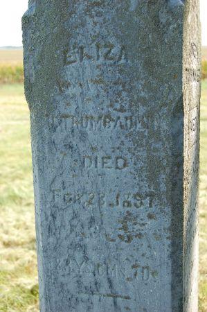 WEBBER/WEAVER TRUMBAUER, ELIZA - Black Hawk County, Iowa | ELIZA WEBBER/WEAVER TRUMBAUER