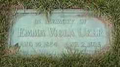 UKER, EMMA VIOLA - Black Hawk County, Iowa | EMMA VIOLA UKER