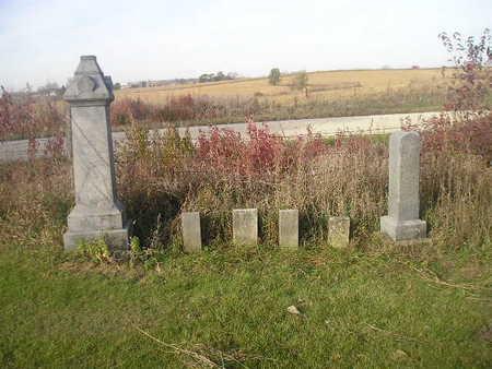 ULLRICH, FAMILY - Black Hawk County, Iowa   FAMILY ULLRICH