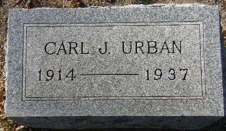 URBAN, CARL J. - Black Hawk County, Iowa | CARL J. URBAN