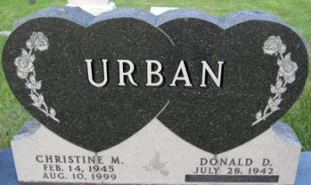 URBAN, CHRISTINE M. - Black Hawk County, Iowa   CHRISTINE M. URBAN
