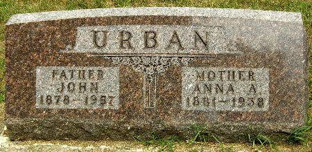 URBAN, ANNA A. - Black Hawk County, Iowa | ANNA A. URBAN