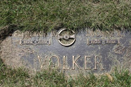 VOLKER, FREDERICK W. - Black Hawk County, Iowa   FREDERICK W. VOLKER