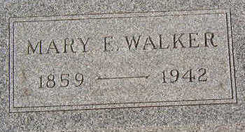 WALKER, MARY E. - Black Hawk County, Iowa | MARY E. WALKER
