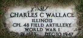 WALLACE, CHARLES C. - Black Hawk County, Iowa | CHARLES C. WALLACE