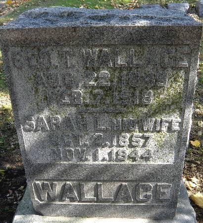 WALLACE, GEO. T. - Black Hawk County, Iowa | GEO. T. WALLACE