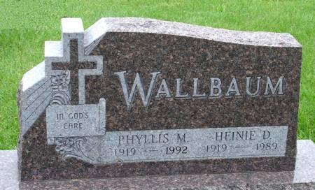 WALLBAUM, PHYLLIS M. - Black Hawk County, Iowa | PHYLLIS M. WALLBAUM