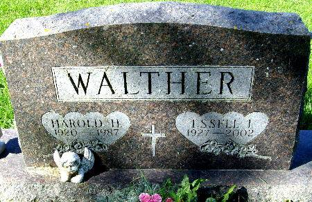 WALTHER, ESSELL I. - Black Hawk County, Iowa | ESSELL I. WALTHER