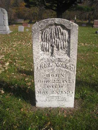 WARD, ANNA - Black Hawk County, Iowa | ANNA WARD