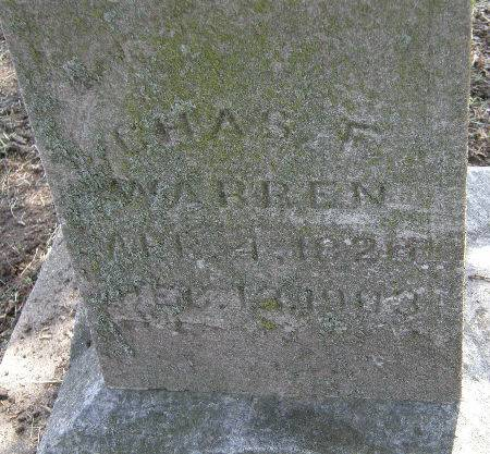 WARREN, CHAS. F. - Black Hawk County, Iowa | CHAS. F. WARREN