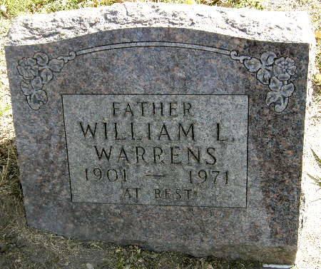 WARRENS, WILLIAM L. - Black Hawk County, Iowa | WILLIAM L. WARRENS