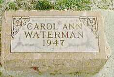 WATERMAN, CAROL ANN - Black Hawk County, Iowa | CAROL ANN WATERMAN