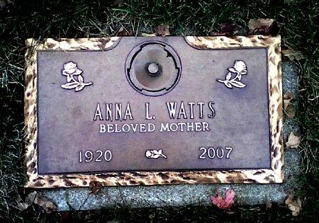WATTS, ANNA L. - Black Hawk County, Iowa | ANNA L. WATTS
