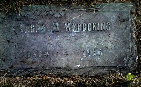 WEBBEKING, VERNA M. - Black Hawk County, Iowa | VERNA M. WEBBEKING