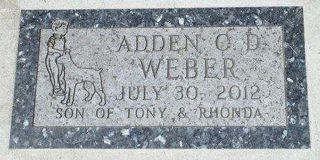 WEBER, ADDEN CARL DOUGLAS - Black Hawk County, Iowa | ADDEN CARL DOUGLAS WEBER