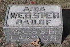 WEBSTER, AIDA - Black Hawk County, Iowa | AIDA WEBSTER
