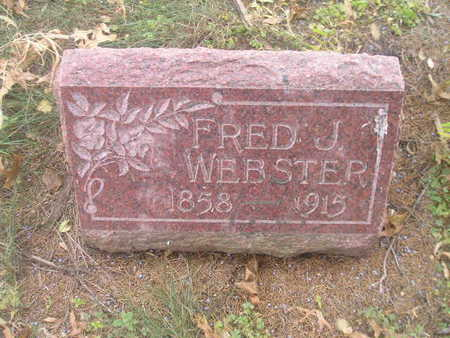 WEBSTER, FRED J - Black Hawk County, Iowa | FRED J WEBSTER