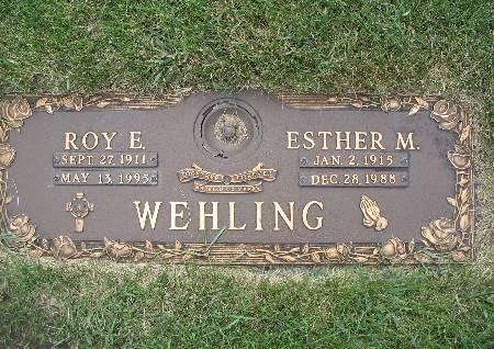 WEHLING, ROY E - Black Hawk County, Iowa   ROY E WEHLING