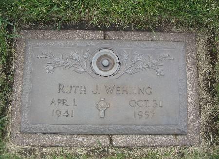 WEHLING, RUTH J - Black Hawk County, Iowa | RUTH J WEHLING