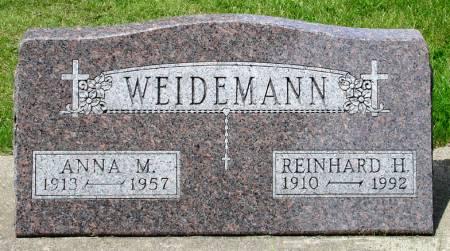 WEIDEMANN, REINHARD H. - Black Hawk County, Iowa | REINHARD H. WEIDEMANN