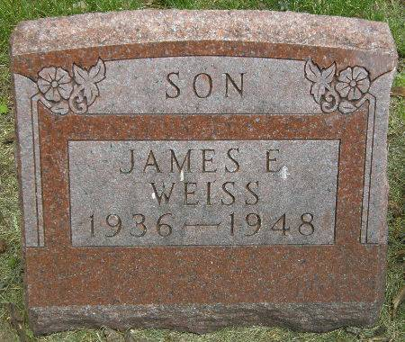 WEISS, JAMES E. - Black Hawk County, Iowa | JAMES E. WEISS