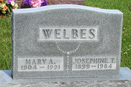 WELBES, JOSEPHINE T. - Black Hawk County, Iowa | JOSEPHINE T. WELBES