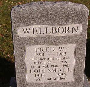 WELLBORN, FRED W. - Black Hawk County, Iowa | FRED W. WELLBORN