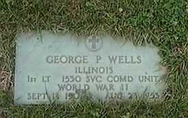 WELLS, GEORGE P. - Black Hawk County, Iowa | GEORGE P. WELLS