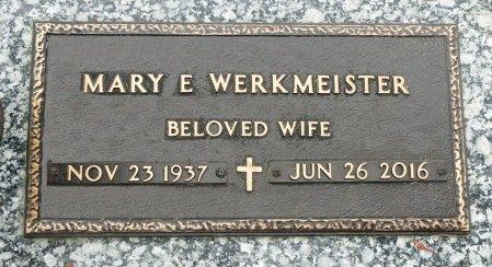 WERKMEISTER, MARY ELLEN - Black Hawk County, Iowa | MARY ELLEN WERKMEISTER