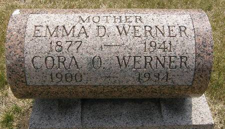 WERNER, CORA O. - Black Hawk County, Iowa | CORA O. WERNER