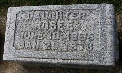 WERNER, ROSE E. - Black Hawk County, Iowa | ROSE E. WERNER