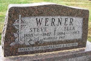 WERNER, STEVE - Black Hawk County, Iowa | STEVE WERNER