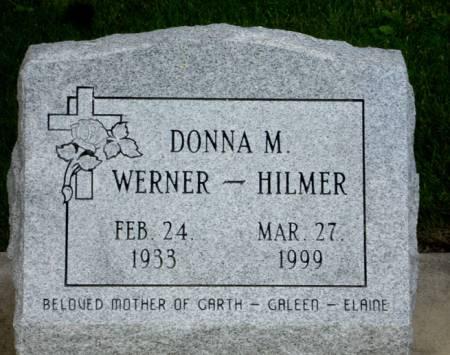 WERNER - HILMER, DONNA M. - Black Hawk County, Iowa | DONNA M. WERNER - HILMER