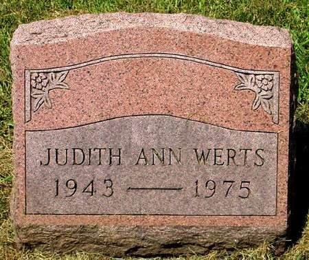 WERTS, JUDITH ANN - Black Hawk County, Iowa | JUDITH ANN WERTS