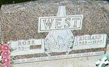 WEST, RICHARD - Black Hawk County, Iowa | RICHARD WEST