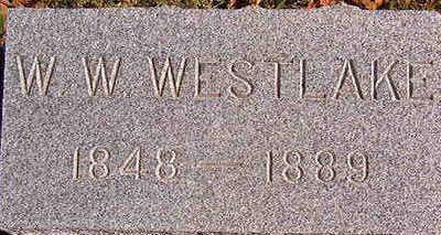 WESTLAKE, W. W. - Black Hawk County, Iowa   W. W. WESTLAKE