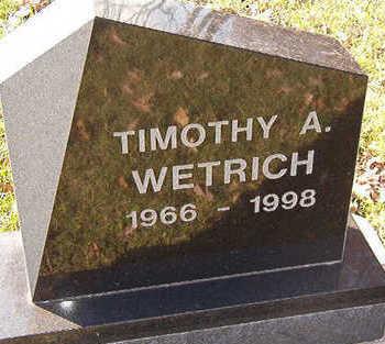 WETRICH, TIMOTHY A. - Black Hawk County, Iowa | TIMOTHY A. WETRICH