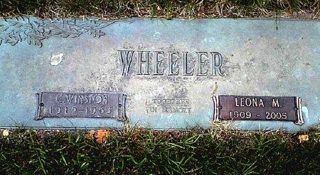 WHEELER, LEONA M. - Black Hawk County, Iowa | LEONA M. WHEELER